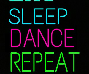 dance, eat, and repeat image