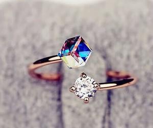 ring, diamond, and jewelry image