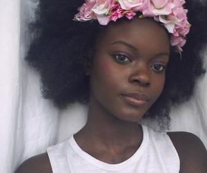 black and natural hair image