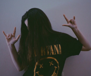 nirvana, grunge, and rock image