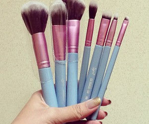 Brushes, beauty, and make up image