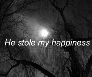 happiness, quote, and black image