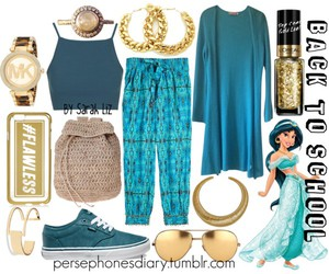 bohemian, disney, and outfit image