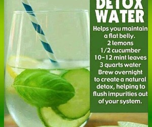 detox, water, and healthy image