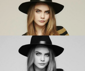 model and cara image