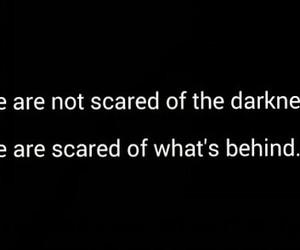 dark, Darkness, and sad image