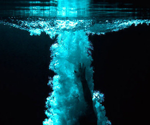 water and blue image