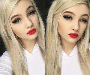 alt girl, scene, and blonde image