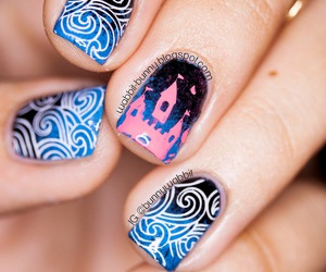 awesome, cool, and nail art image