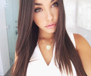 madison beer, hair, and eyes image