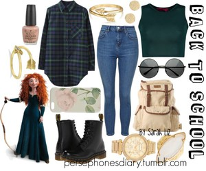 brave, fall, and merida image