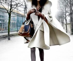 fashion, winter, and coat image