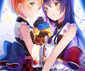 anime, rin, and love live! image
