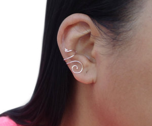 earrings, jewelry, and earcuff image