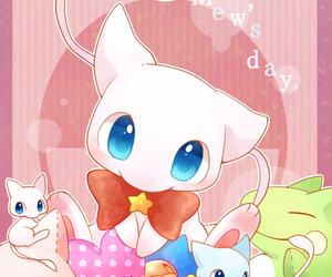 mew, pokemon, and kawaii image