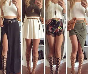 clothes, skirts, and summer outfits image