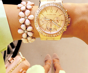 fashion, watch, and Michael Kors image