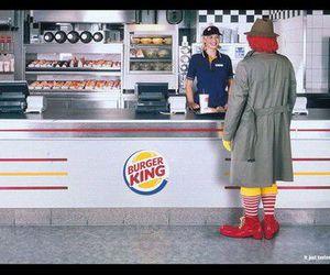 funny and burger king image