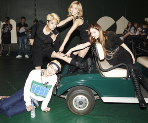 amber, luna, and Onew image