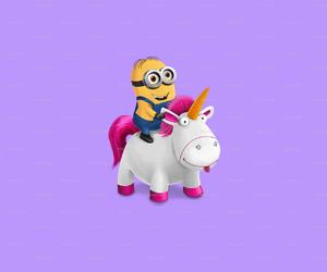 minions, unicorn, and cute image