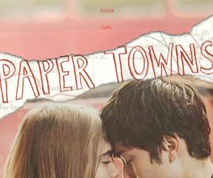 paper towns, john green, and cara delevingne image