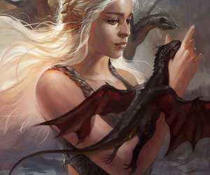 art, game of thrones, and comics image