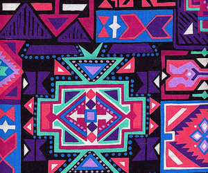 aztec and pattern image