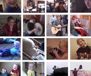 baby, guitar, and ed sheeran image