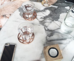 marble, pink, and theme image