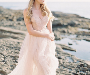 bridal, pink, and romantic image