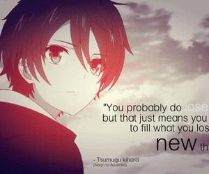 anime, quotes, and anime boy image