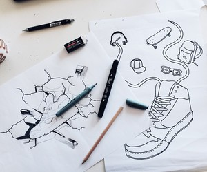 drawing, graphic, and graphic design image