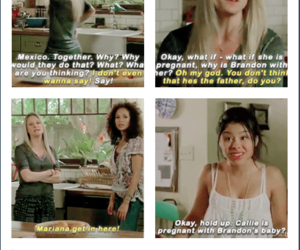 lena, the fosters, and mariana image