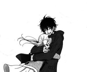 manga, my little monster, and tonari no kaibutsu-kun image