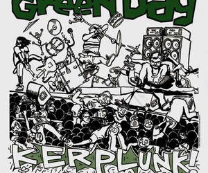 album, band, and green day image