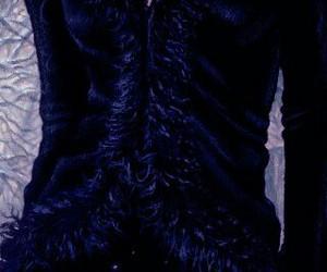 blue, dark, and dress image