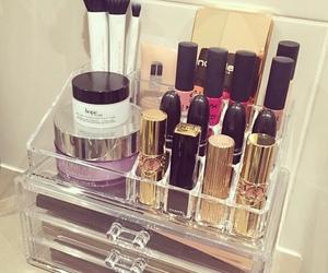 beauty, make up, and lipstick image