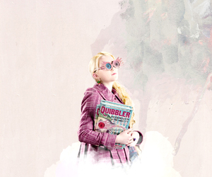 evanna lynch, harry potter, and luna lovegood image