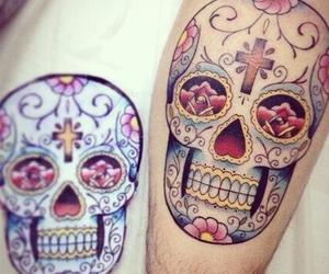 tattoo and skull image