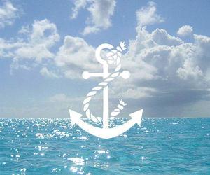 sea and anchor image