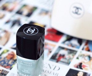 chanel and nail polish image