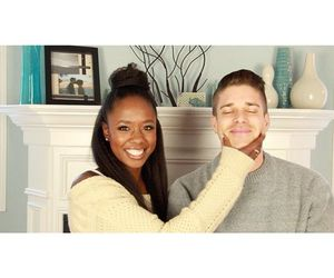 interracialcouple, interracialfamily, and interracialromance image