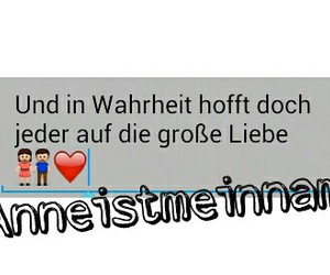 girly, status, and ich liebe dich image