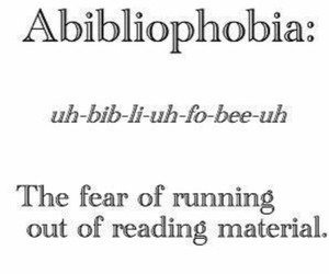 books, reading, and fear image