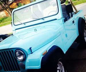blue, car, and jeep image