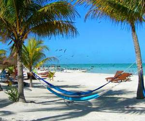 beach, cancun, and relax image