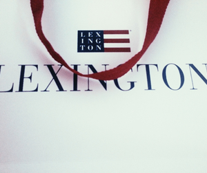 bag, lexington, and red image
