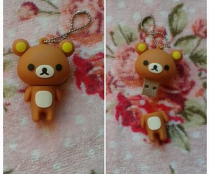 kawaii, pen drive, and rilakkuma image