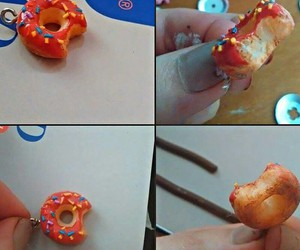 cernit, donut, and fimo image