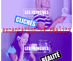 expectation vs reality, ​bestfriend, and caroline et safia image